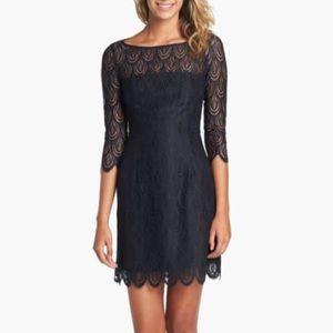 Lilly Pulitzer Hera Lace Sheath Mini Dress Sleeves